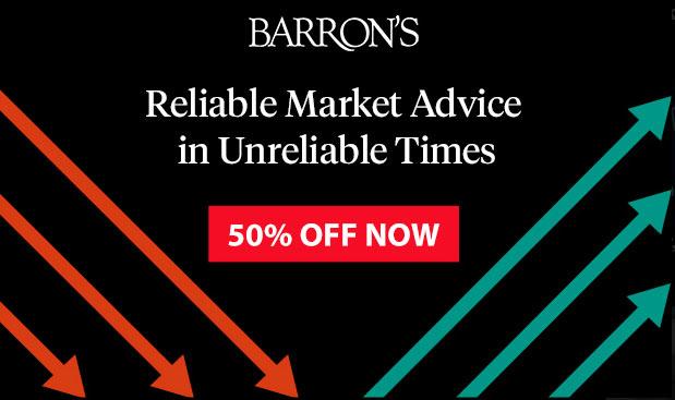 subscribe barrons coupon 50