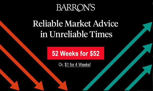barrons subscription offer 52
