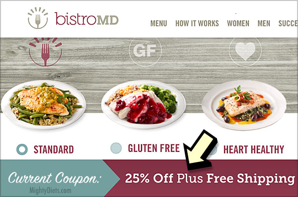 bistromd coupon applied