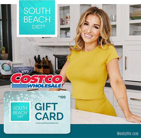 south beach diet egift card costco