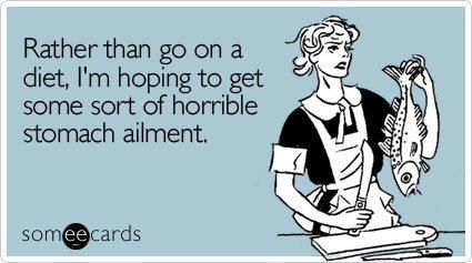 diets fail humor