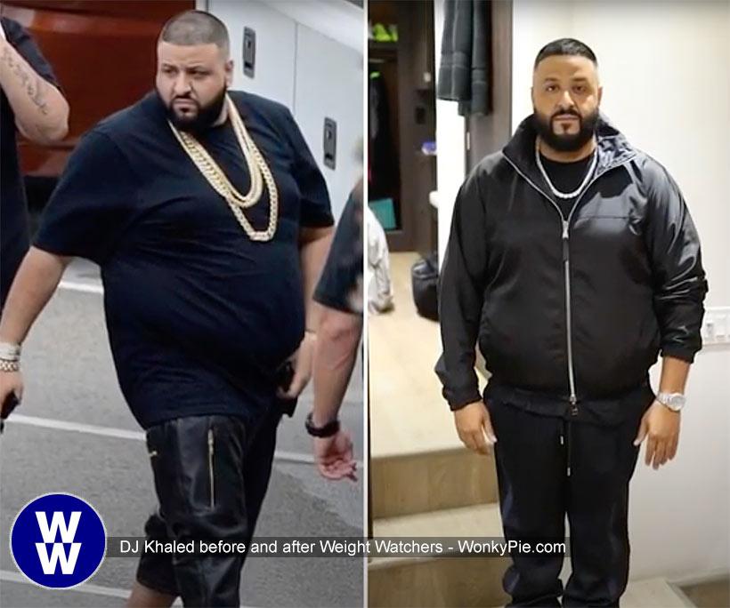 dj khaled ww before after weight loss