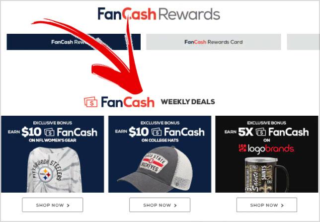 fanatics fancash promotions