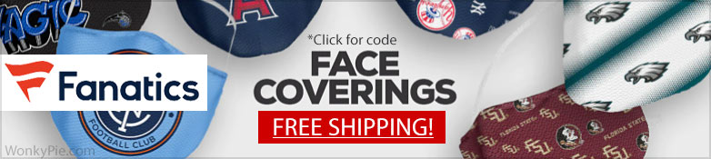 fanatics mask free shipping banner