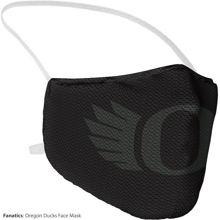 fanatics oregon ducks mask
