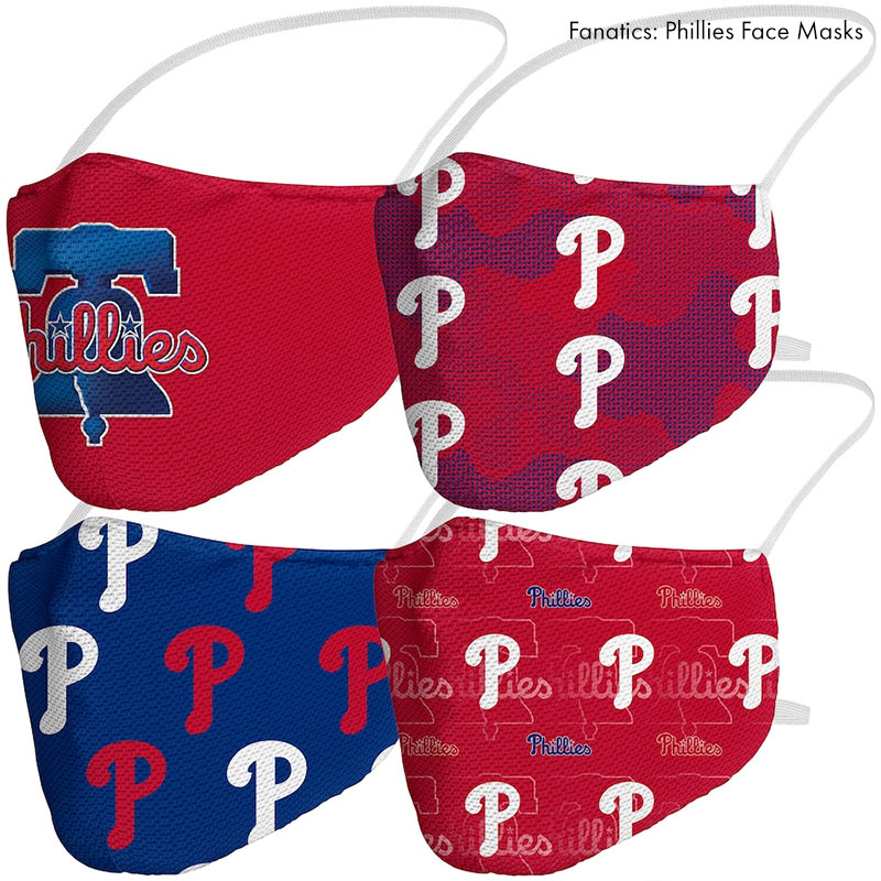 fanatics phillies logo face masks