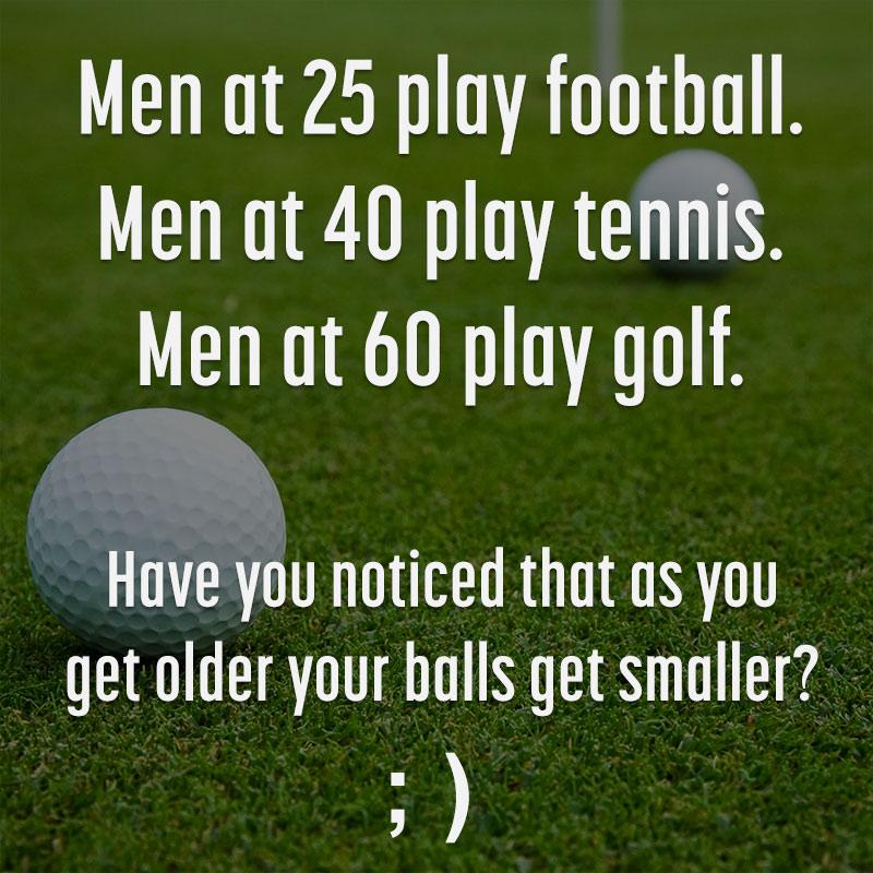 golf funny quote men