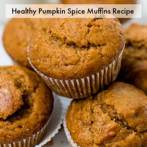 healthy pumpkin spice recipe