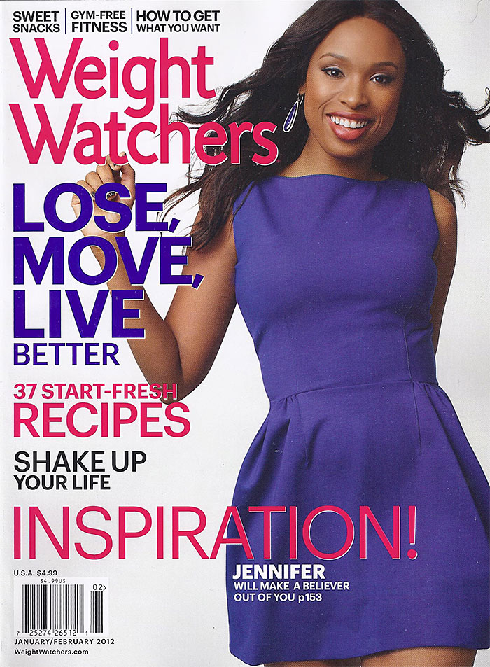 jennifer hudson weight watchers mag