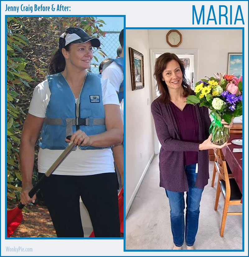 jenny craig before after maria