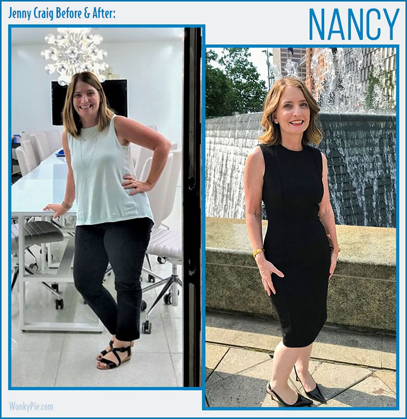 jenny craig before after nancy