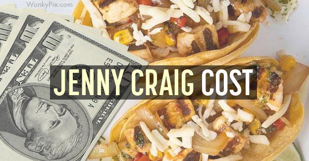 jenny craig cost