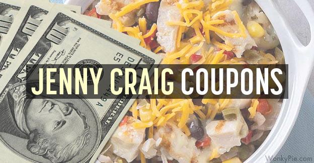 jenny craig coupons
