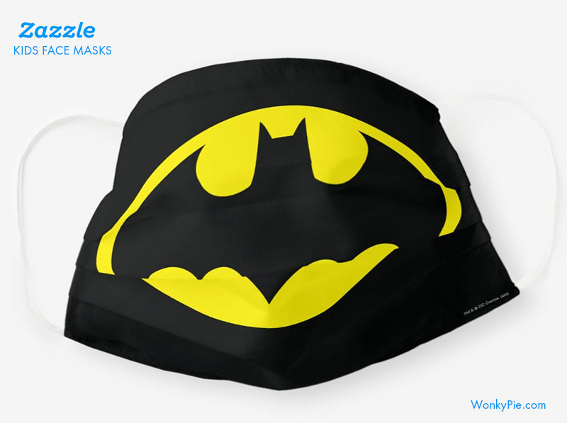 kids face mask batman