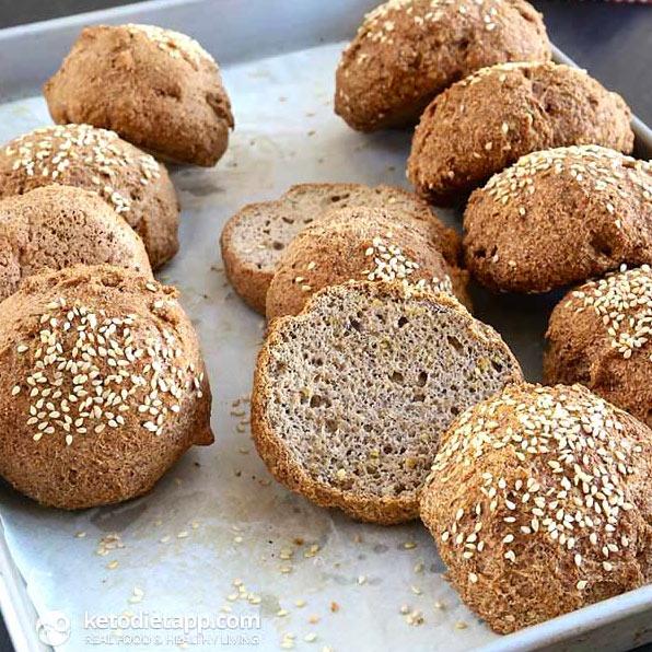 low-carb keto buns