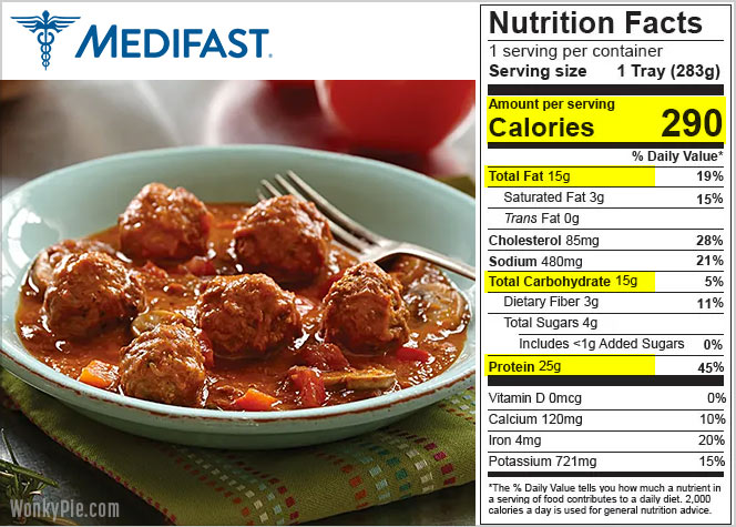 medifast food reviews nutrition