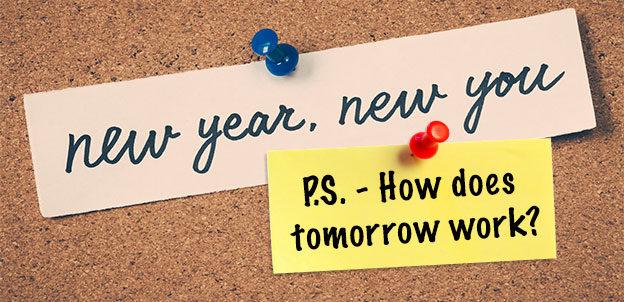 new year resolution tomorrow