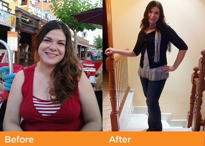 noom before after weight loss magdelena