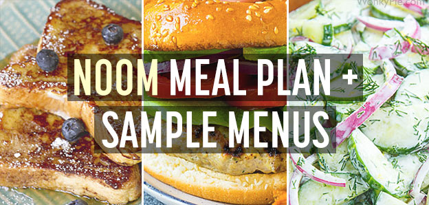 noom meal plan menus