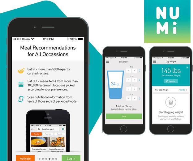 numi app nutrisystem