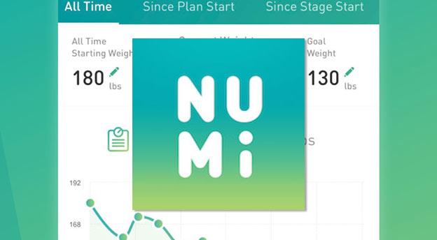 numi nutrisystem app