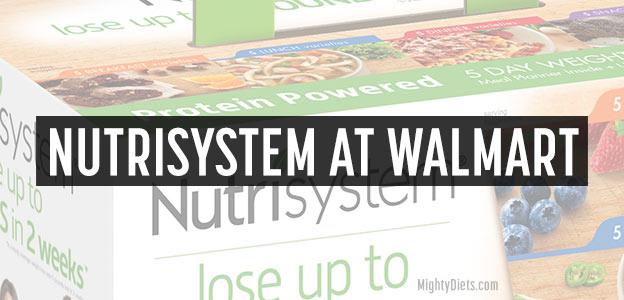 nutrisystem at walmart