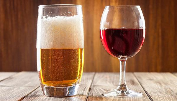 nutrisystem beer wine