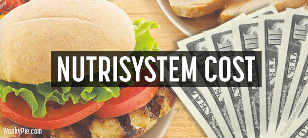 nutrisystem cost