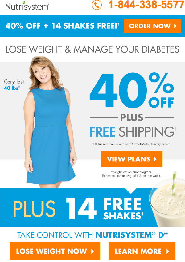 nutrisystem for diabetes featured promotion