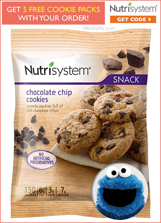 nutrisystem free cookies coupon