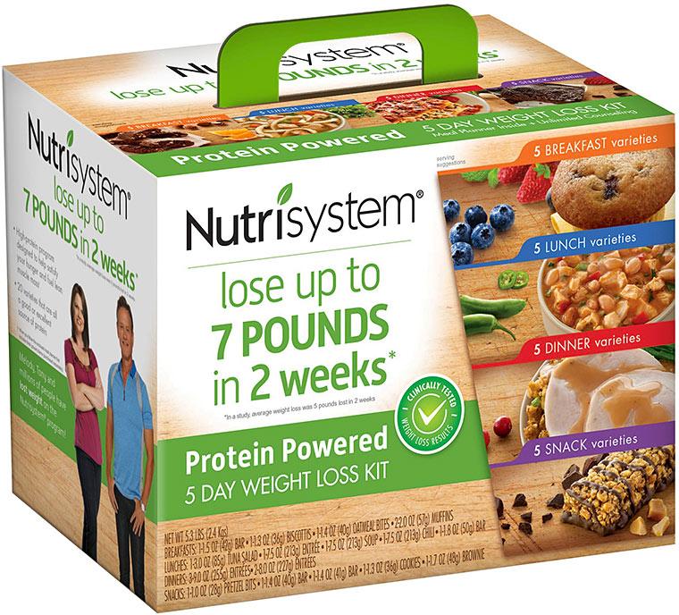 nutrisystem protein 5 day kit