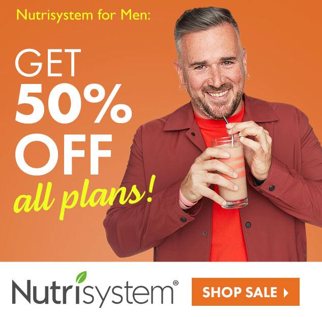 nutrisystem men 50 off