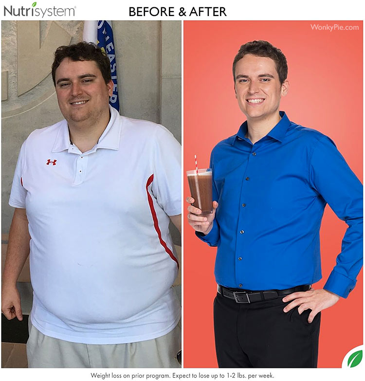 nutrisystem men before after john