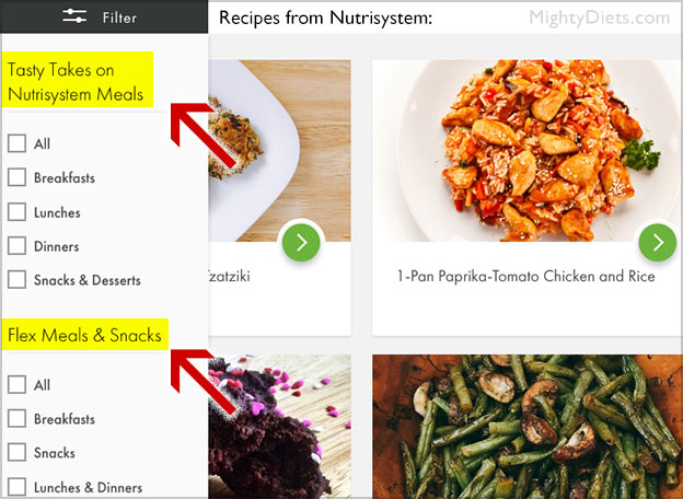 nutrisystem recipes meal
