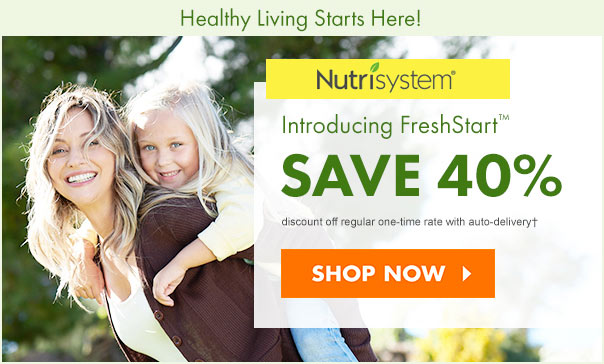 nutrisystem save40 coupon