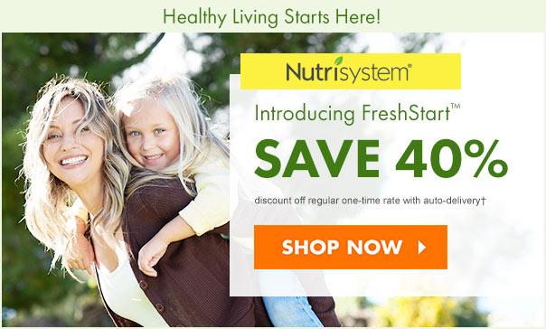 nutrisystem 40 off