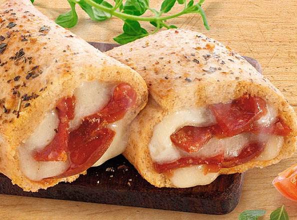 pepperoni pizza melt