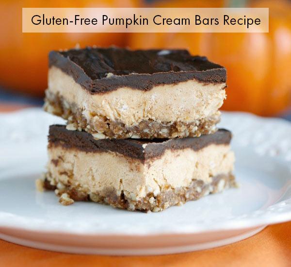 pumpkin cream bars recipe