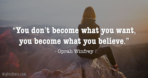 quote weight loss oprah