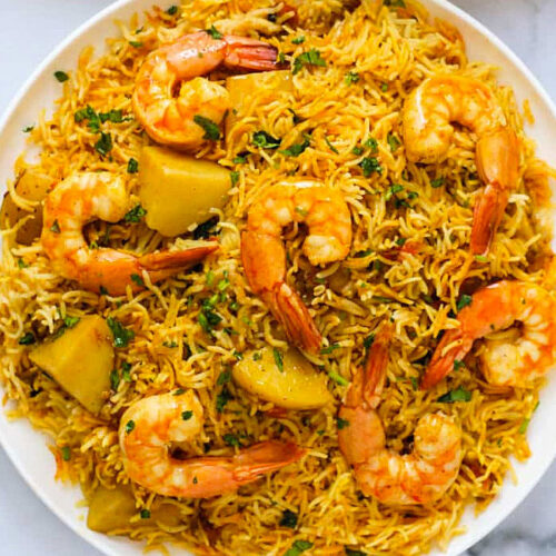 shrimp biryani recipe
