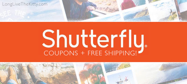 shutterfly coupons ship free