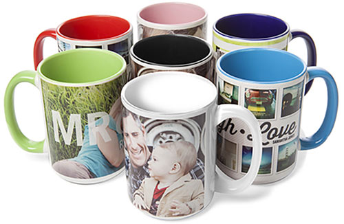 shutterfly mugs colors