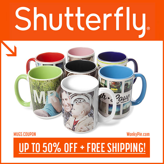 shutterfly mugs coupon