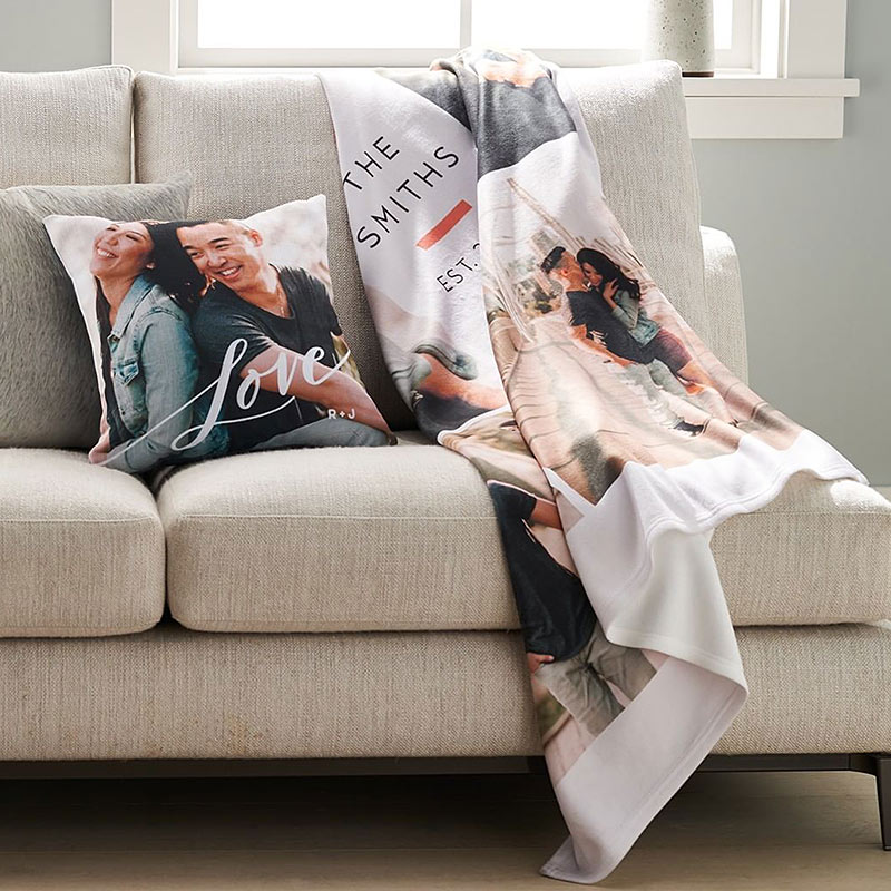 shutterfly fleece blanket plush