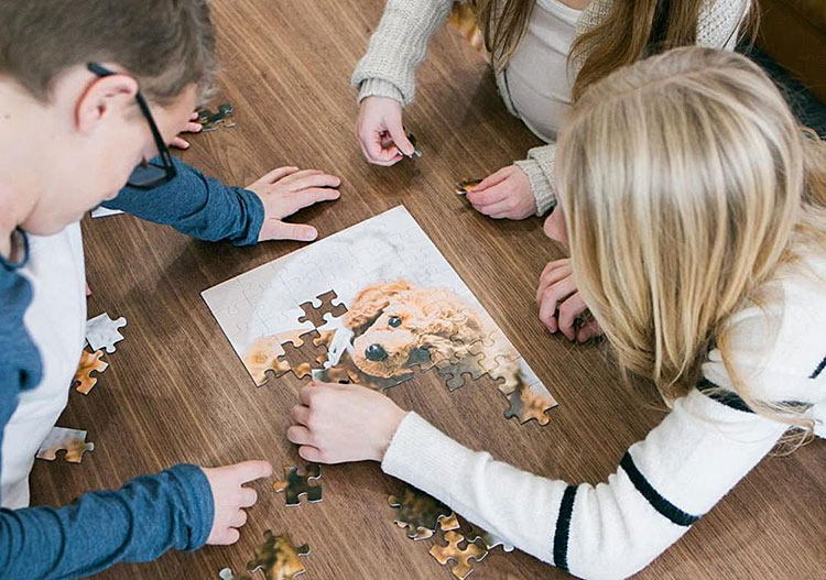 puzzle free delivery shutterfly
