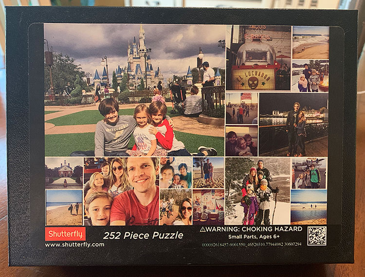 shutterfly puzzle 252 pieces
