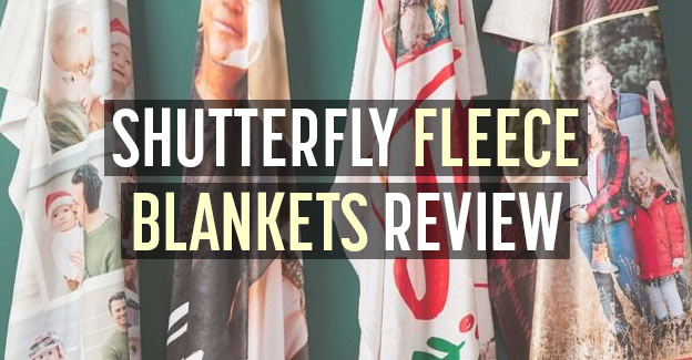 shutterfly reviews fleece blanket