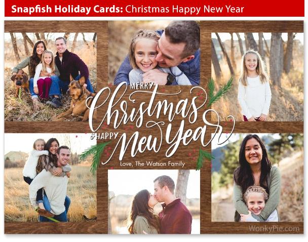 snapfish holiday cards christmas new year