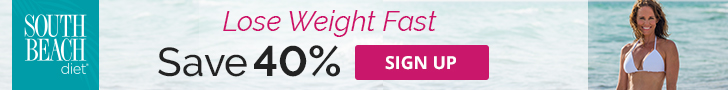 south beach diet sale banner