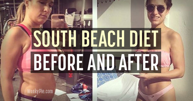 south beach diet before after